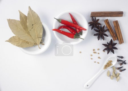 Assorted dry spices