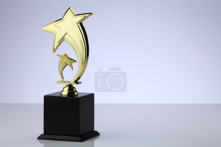 stars shape trophy