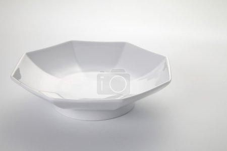 White japanese plate