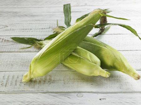 Green mature corn