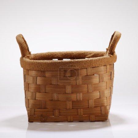 Handmade basket isolated