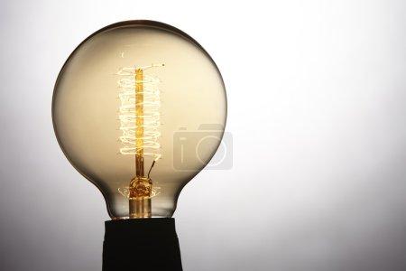 One ligh bulb