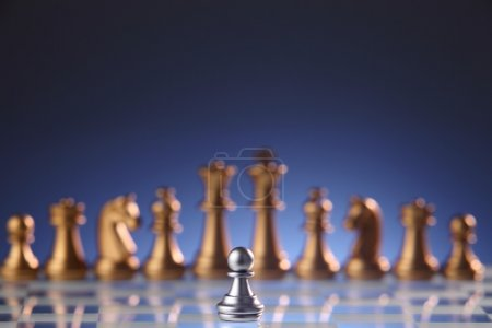 chess figures view