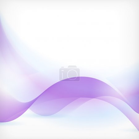 Abstract blue purple wave background