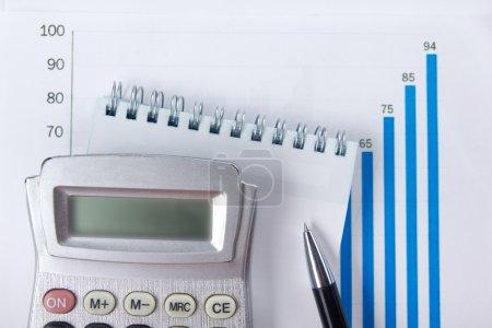Financial accounting stock market graphs analysis....