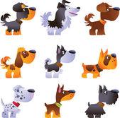 Dogs vector set part 3