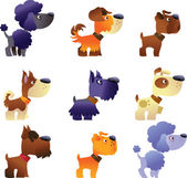 Dogs vector set part 2