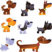 Dogs vector set part 1