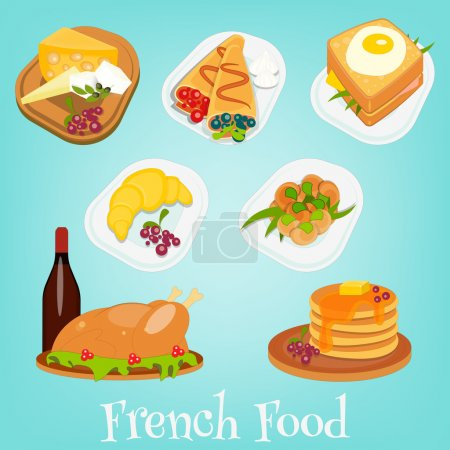 French Food Set