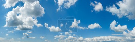Wide sky panorama