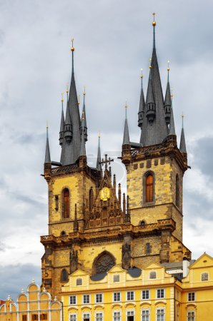 The Church of The Mother of God in front of Tyn in Prague, Czech