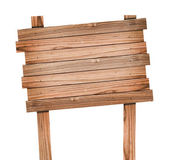 Staré dřevo znamení izolované s ořezovou cestou