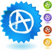 Anarchy icon button