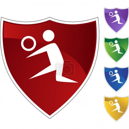 Volleyball Player  web icon