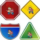 Crossing Guard web icon