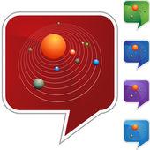 Solar System web icon