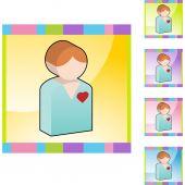Heart Patient web icon