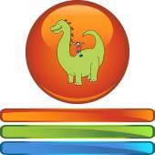 Dinosaur web icon