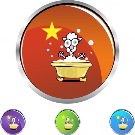 Poodle web icon