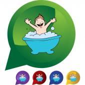 Baby Bath web icon
