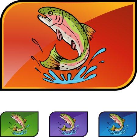 Trout web icon