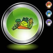 Vegetables icon button