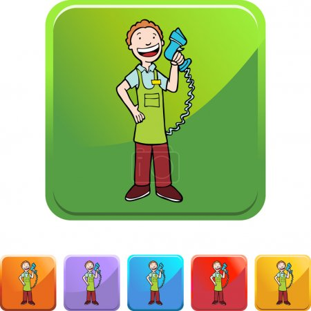 Cashier web icon