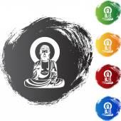 Buddha web icon