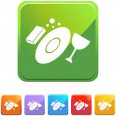 Washing Dishes icon button