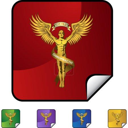 Chiropractic Symbol web icon
