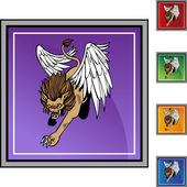 Winged Lion web icon