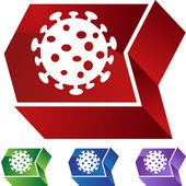 Virus web button