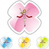 Running Girl web icon