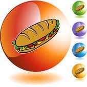 Submarine Sandwich web button