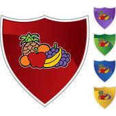 Fruit icon button