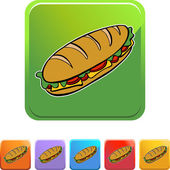 Submarine Sandwich web button