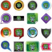Medusa web button