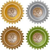 Penny icon button