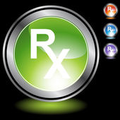 Prescription Symbol icon button