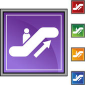 Escalator web button