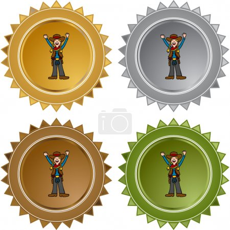Cowgirl web icon