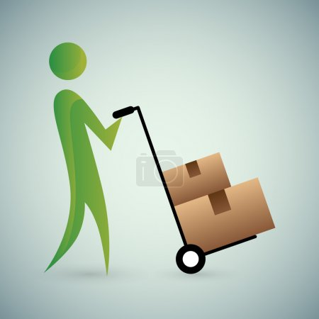 Moving Boxes Icon
