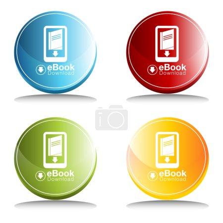 eBook Download Icon Button