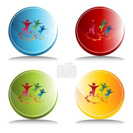 Team Synergy Button