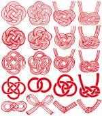 mizuhiki and Japanese family crests