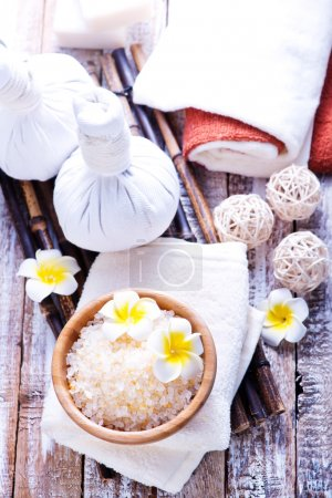 Products for massage and spa