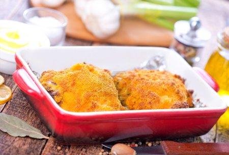 fried chicken in bowl