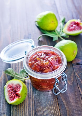 Figs and jam...