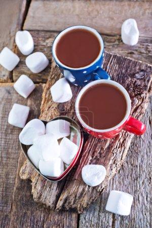 Bebida cacao y bombones
