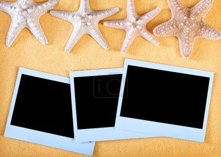 Polaroid style photo frames